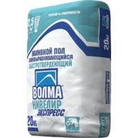 Наливной пол ВОЛМА-Нивелир Экспресс, 20 кг, ВОЛМА