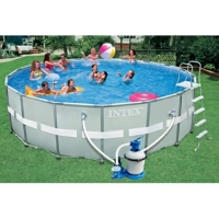 Каркасный бассейн Intex Ultra Frame Pool 54958