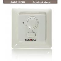 Электрический комнатный нагревательный термостат настенного Saswell SAS811FHL-7 16A