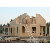 Каркасно-щитовой дом по низким ценам
