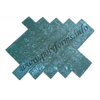 Штампы для бетона и штукатурки - Старый кирпич (Шахматка)