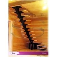 Стильная лестница Стамет Соло