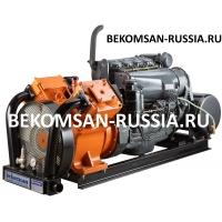 Дизельная компрессорная станция Bekomsan Esinti 102 diesel