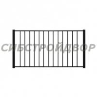 Металлический забор - 1 МЗ.01