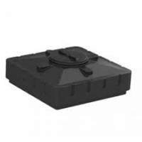 Бак для душа 240 литров черный (950х950х340) Aquatech