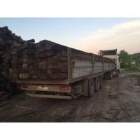 Шпалы пропитанные деревянные в наличии
