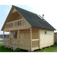 Недорогие деревянные дома  дом-баня 6*6 хит продаж