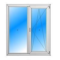 Двухкамерные Пластиковые окна НОВОЛИТ