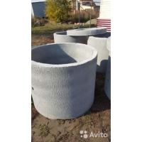 Кольца жб колодезные канализационные,днище, крышка