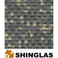 Гибкая черепица Shinglas Шинглас Джаз Индиго
