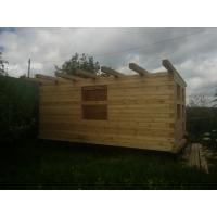 Коробка из бруса на сруб 6х4х2,4 м  Egregorwood-эко