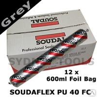 Однокомпонентный полиуретановый клей-герметик Soudaflex 40FC
