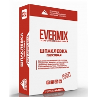 Шпаклевка гипсовая Evermix
