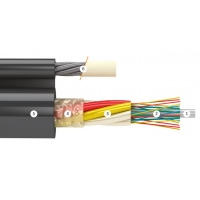 Подвесной кабель с выносным силовым элементом Инкаб ДПОм-П-08А - 9Кн