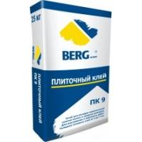 Клей плиточный ПК9 25 кг  BergHome