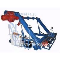 Машина для намотки кабеля на барабаны ООО Смол УПК-25-7ПРГС с АКУ-1400