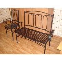 Мебель ковано металлическая