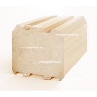 Профилированный брус из леса Архангельска 150х150  Сибирский профиль от Грин Рэй