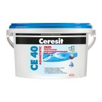 Эластичная водоотталкивающая затирка Ceresit се 40  Мельба
