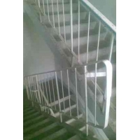 Лестничные ограждения (стальные перила)  ЛО 17