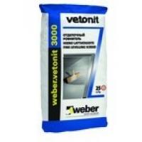 Сухие смеси Weber Vetonit Выравнивающие смеси для пола  3000 25 кг
