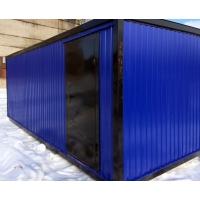 Баня-душевая из блок-контейнера  Баня-душевая из блок-контейнера