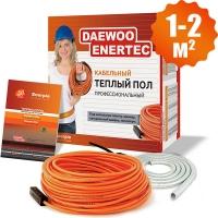 Электрический кабельный теплый пол  Daewoo Enertec