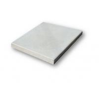 Вибролитая тротуарная плитка квадратная гладкая (Серая) 250х250х