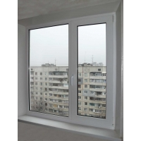 Двухстворчатое окно GUTWERK 58 мм (Германия)