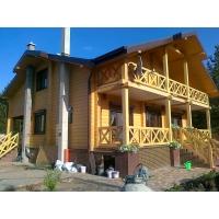 деревянные дома из любого вида бруса Современные деревянные дома комплекты,монтаж