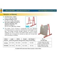А-образная рама для транспортировки плит на грузовых автомобилях Abacomachines TRUCK A-FRAME ТАF060