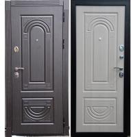 Дверь входная металлическая Дива Дива МД - 31 венге-белёный дуб