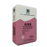 """Клей монтажно-кладочный """"Мастерблок"""" 25 кг. DE LUXE"""