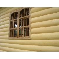 Блок-Хаус (имитация бревна) 36х185х6000, ель/сосна, сорт АВ