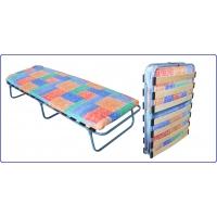 Ортопедическая раскладная кровать с поролоновым матрасом КТР-2ЛП Ярославский завод кемпинговой мебели