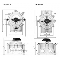 Пакетный выключатель ПВ, пакетный переключатель ПП