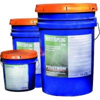 Устранение течи в бетоне Ватерплаг эффект за 3 мин.