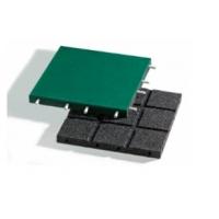 Плитка из резиновой и ЕПДМ крошки  с фтулками Evropes 500х500х20,30,40 мм