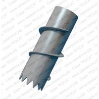 Сваи стальные винтовые c литым наконечником  СВЛЦ, СВЛМ