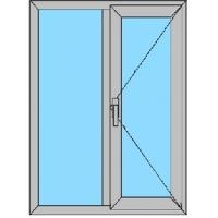 Окна алюминиевые, витражи
