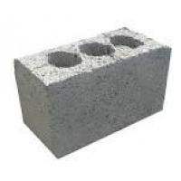 Блок керамзитовый 3х и 2х пустотный