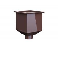 Воронка водосборная LINKOR 100мм (алюминий 1,2мм)  (255,5-ш/220-в)