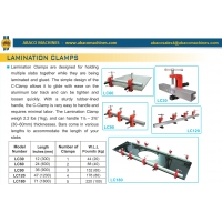 Струбцины Abacomachines LAMINATION CLAMPS LC