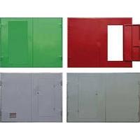 Ворота металлические, противопожарные ,порошковая покраска. Стройметгрупп класс EI30.60