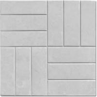 Тротуарная плитка «12 кирпичей» размер 500х500х50