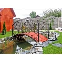 Декоративные мостики для пруда, бассейна. Сталь-Проект