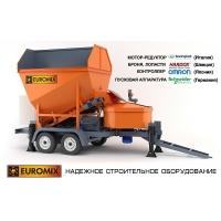 МОБИЛЬНЫЙ БЕТОННЫЙ ЗАВОД  EUROMIX CROCUS 15/750 TRAIL