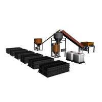 Линия для производства газобетона МЕТЕМ