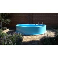 Бассейн из полипропилена голубой 3х5х1.5 метр. тощ. 5 мм