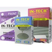 Отделочные, гидроизоляционные и фасадные материалы марки ИН-ТЕК IN-TECK IN-TECK